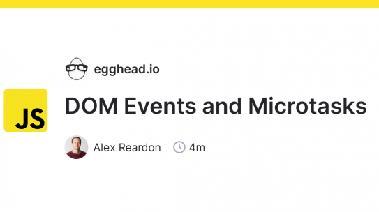 javascript: DOM Events and Microtasks